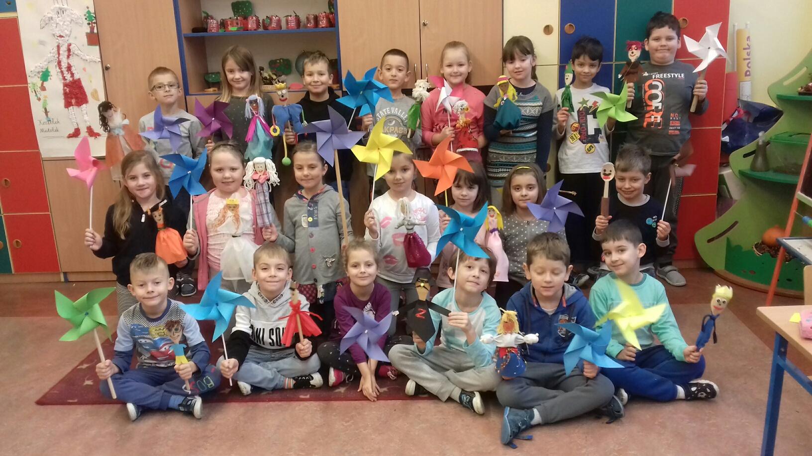 Klasa 1 a ze Szkoły Podstawowej nr 2 w Piastowie