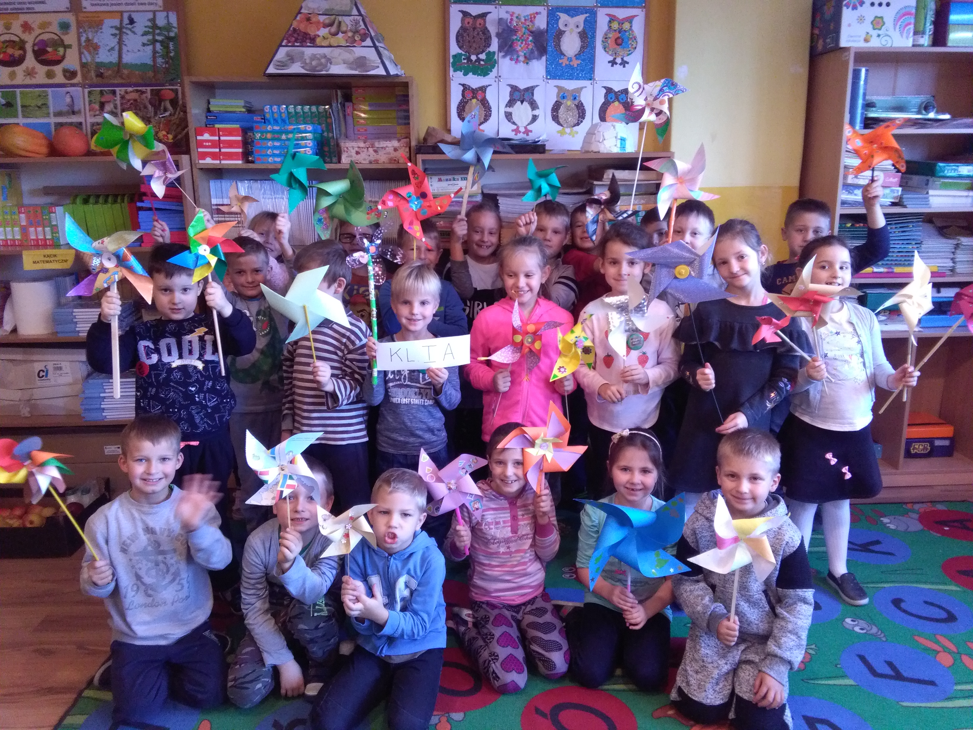 Klasa 1a ze Szkoły Podstawowej w Chabówce