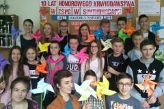 IIb gimnazjum w Szkole Podstawowej nr1 w Spytkowicach