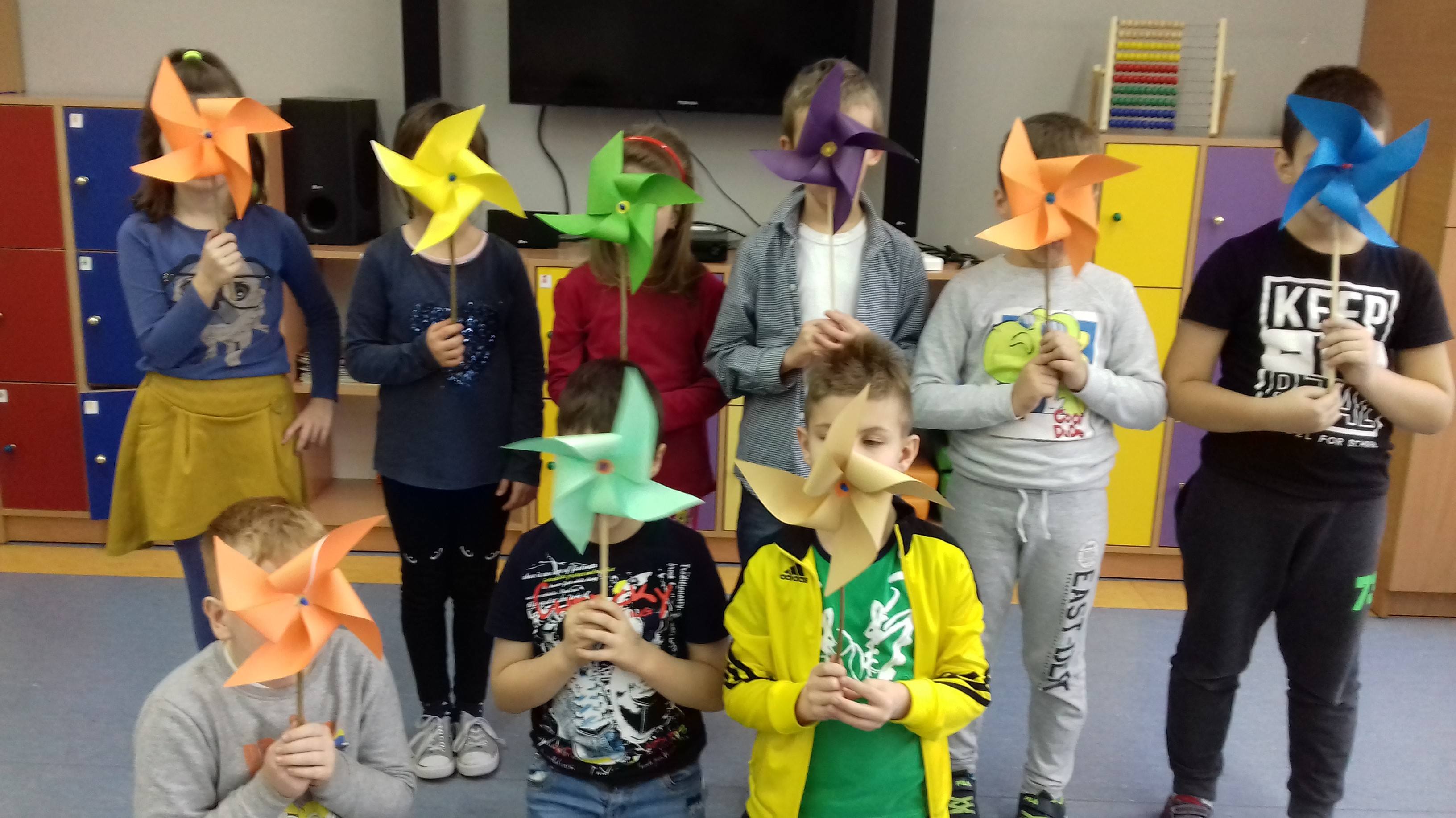 Szkoła Podstawowa w Lipsku - Dzień Wiatraczka